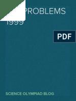 IAO 1999 Problems