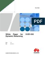 White Paper for 1X&EV-DO Dynamic Refarming-HWE