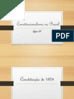 Constitucionalismo no Brasil.pptx