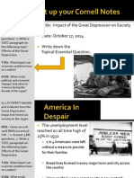 WEBNotes - Day 2 - 2014 - Impacts of the Great Depression