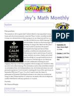 murphy parent newsletter