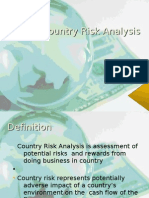 Country Risk Analysis PPT SecD Group10
