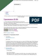 Upasanamsa/Vimsamsa (D-20) Q&A