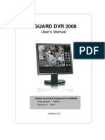 Kguard Dvr2008 en Manual(With Ivs&Pos&Ddns)v2.0