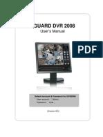 Kguard Dvr2008 en Manual(With Ivs&Pos&Ddns)v2.0