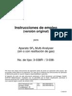 Multi analizador de gas SF6_3-038R-R Espanol.pdf