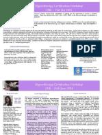 Hypnotherapy Certification Flyer Jan 2015 Program