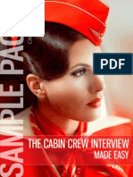 The Cabin Crew Interview Made Easy