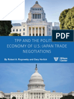 TPP and the Political Economy of U.S.-Japan Trade Negotiations