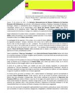 Comunicado IM-Defensoras Ante Desaparición y Presunto Asesinato de Comunicadora Social en Tamaulipas, México (231014)