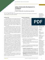 Health Creating Communities - Community Development and Health