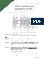 JSC Meeting Minutes Sept 2009