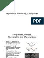 Impedance, Reflectivity, & Amplitude