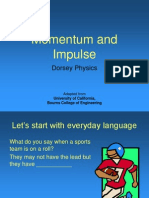 momentum and impulse intro