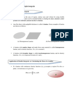 Lecture Notes (Chapter 2.5 Application of Multiple Integral)