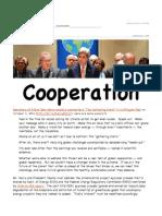 Ground Zero - Kerry Calls for Cooperation