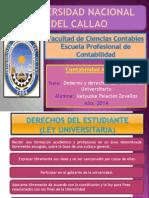 Deberes y derechos del Estudiante Universitario.pptx