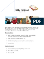 middle childhood1