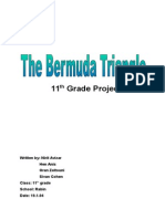 the bermuda triangle - 11th grade project