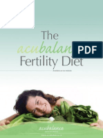 Acubalance Fertility Diet