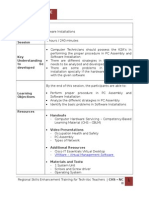 Session Guide No 4 Pc Assembly and Software Installation