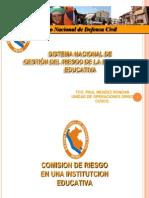 Comisión de Gestión del Riesgo de la Institución Educativa.pptx