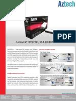 Aztech DSL605EU Datasheet