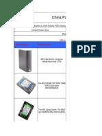 Panda brand HDD price list.xls