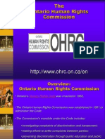 ontario human rights resolutions