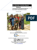 InterAction Member Activity Report SOMALIA
