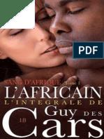 L_africain - Guy des Cars.epub