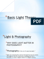 basic light theory iso  aperture
