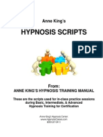 Hypnosis Scripts