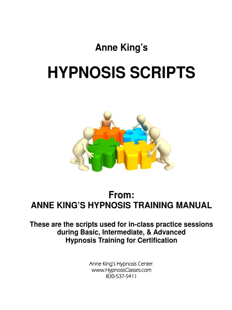 Hypnosis Scripts | Hypnosis | Relaxation (Psychology)