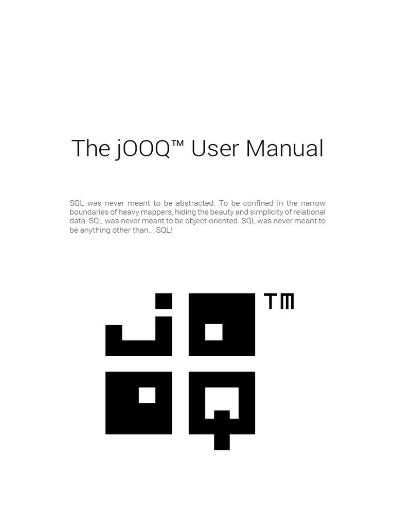 Tutorial de JooQ | Sql | Parameter (Computer Programming)