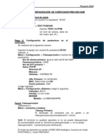 Manual de Configuracion de Tarificador Pmc1000-Gsm