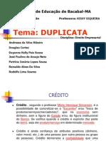 APRESENTAÇÃO DA EQUIPE-DUPLICATA.ppt