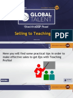 selling to the teaching eps