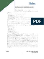 Manual Practico de Instalacion Del Tarificador PMC1000