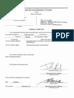 Dominic Adesanya - Charging Documents