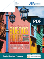 Fall Meeting Buenos Aires 2014