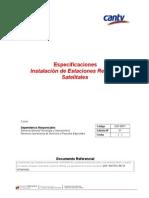 Especificaciones Instalación de Estaciones Remotas Satelitales.doc