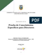 Directores_Prueba de Conocimientos Específicos para Directores.pdf