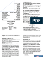 Bulletin Announcements 10-26-14