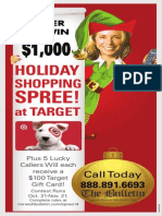 The Bulletin Holiday Gift Card Phone-In Sweepstakes Official Rules (10.23.14)