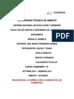 RELACION DE LA QUIMICA CON LA CIENCIA DE LOS ALIMENTOS.docx