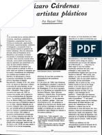 Lazaro Cardenas y los artistas plasticos.pdf