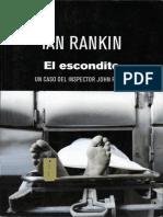 El escondite - Rankin, Ian.epub