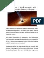 Descubren el agujero negro más grande del universo cercano.docx
