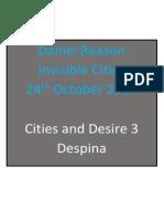 Invisible Cities - Final Presenation